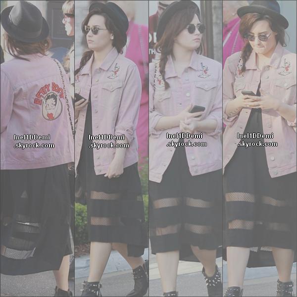 02.03.13: Demi a donné un concert à Orlando.