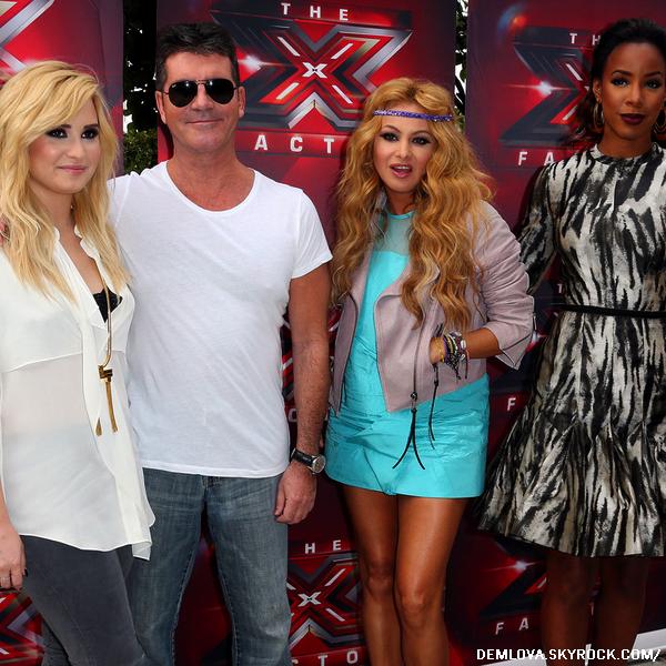 Le 11 Juillet a eu lieu la Deuxième journée des auditions pour X-factor.