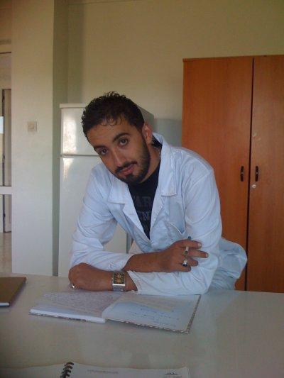 dans laboratoire  de boughrara