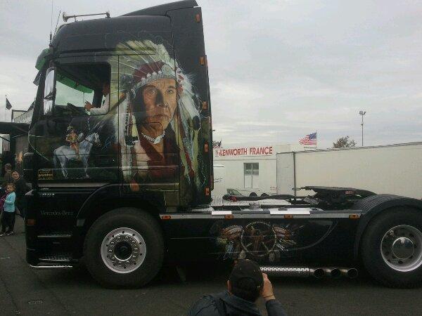 24h du mans camion