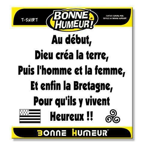Breton et fiere de l etre