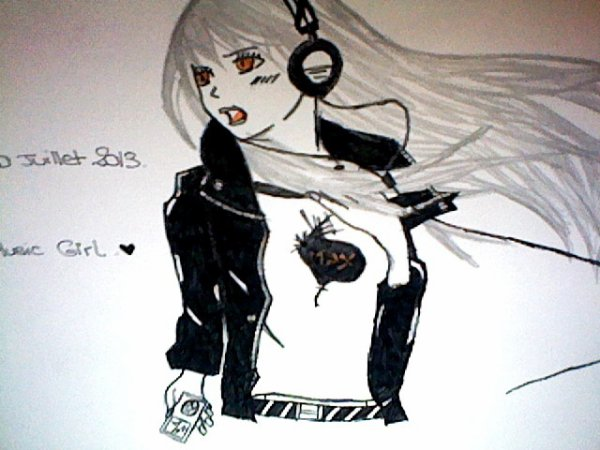 DIVERS: Music Girl. :3