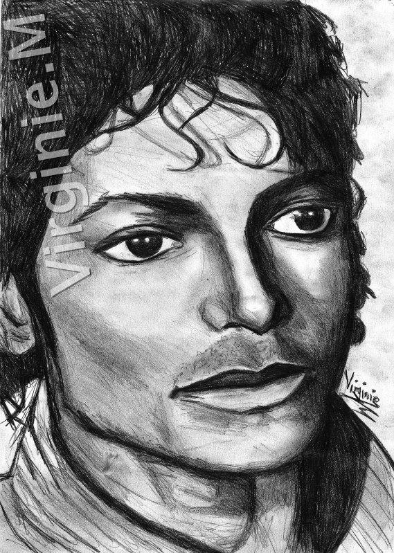 Nouveau dessin de michael jackson g ni zdedegwadagirl mes dessins - Coloriage michael jackson ...