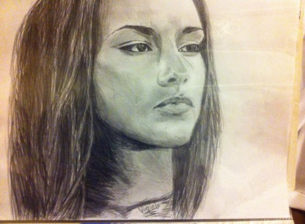New Drawing Alicia KEYS