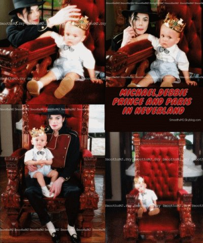 ₪ ♥ Michael,Debbie,Prince & Paris en 1998 a NeverLand ♥ ₪