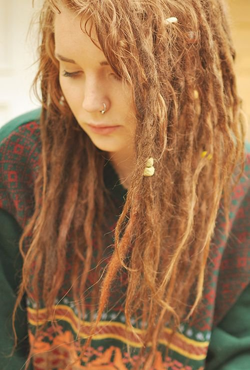 Brown Dreads