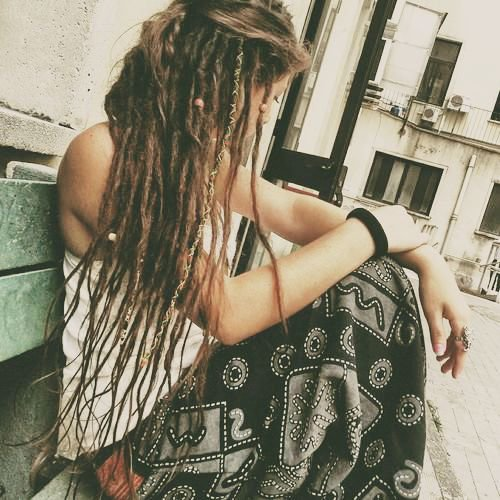 Hippie With Dreads