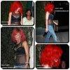 """24/09/10 ~ Rihanna quitte le restaurant """"Giorgio Baldi"""" à LA."""