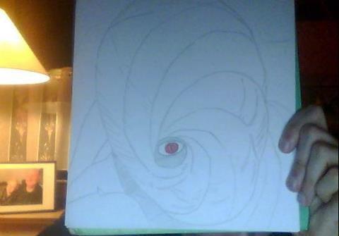 Encore Obito dans le Zetsu en spiral