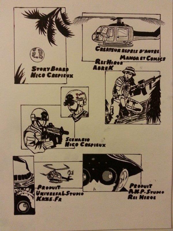 Deuxième page de BD Exit Wounds