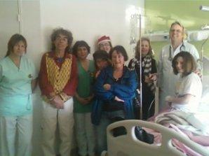 Nöel 2011 à l'hôpital de Manosque : Notre 1 er  !!!