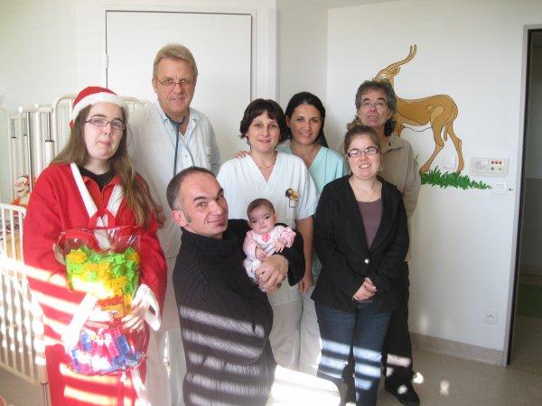 Le personnel présent le 31 décembre 2012 dans le service !!