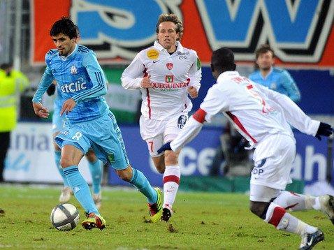 Mercredi 22 décembre   OM 0 / 0 Brest   (ligue)
