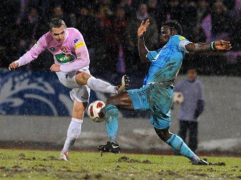 Dimanche 09 janvier OM 1 / 3 Evian (coupe de France)