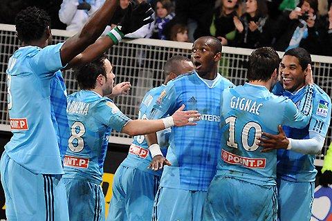 Mercredi 19 janvier  OM 2 / 0 Auxerre   (coupe de la Ligue) EN FINALE Stade de France, nous revoilà !