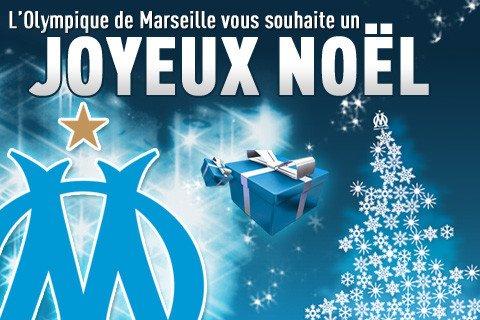 L'Olympique de Marseille souhaite à tous ses supporters un Joyeux Noël et de bonnes fêtes de fin d'année !