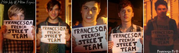 . FRANCESQA FRANCE First of all..
