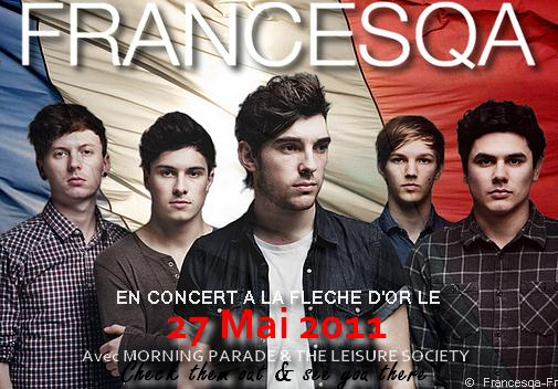 . FRANCESQA FRANCE FIRST SHOW IN EUROPE... IN FRANCE !!!!