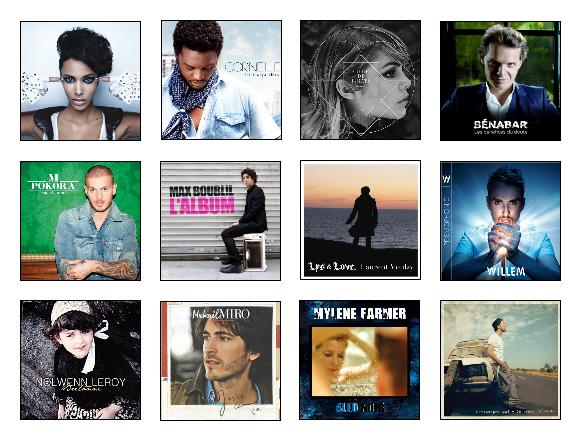 Pré-nomination : Album francophone du mois de février.