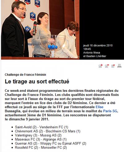 challenge de France féminin