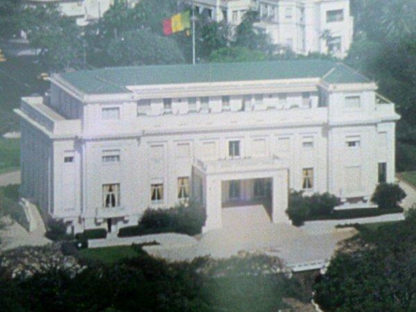 Le palais présidentiel du Senegal