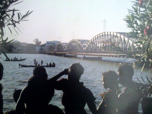 Le pont Fedherbe de St louis du Sénégal