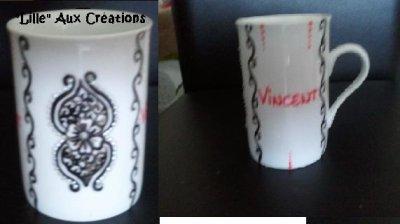 Autres personnalisations....habits et porcelaine