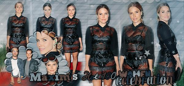 ♦ HellOfAFire.skyrock.com _______   « 11 juin 2014 : Maxim's Hot 100 Women Celebration » → Création Décoration Texte