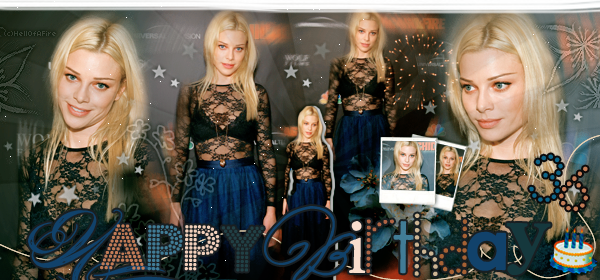 ♦ HellOfAFire.skyrock.com _______   « 29 novembre 2014 : Happy Birthday Lauren » → Création Décoration Texte
