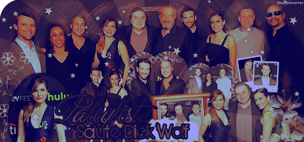 ♦ HellOfAFire.skyrock.com _______   « 19 mars 2016 : Paleyfest tribute Dick Wolf » → Création Décoration Texte