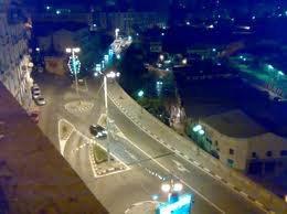 la c bejaia (ville) vers 21h (vue nocturne)
