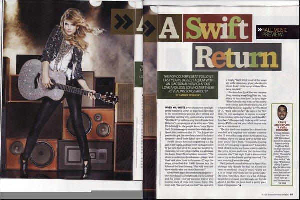 Entertainment Weekly Scans ... Tu aimes ? (L'interview est à venir...)