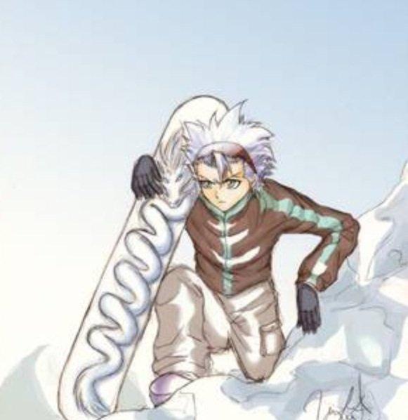 Toshiro au ski