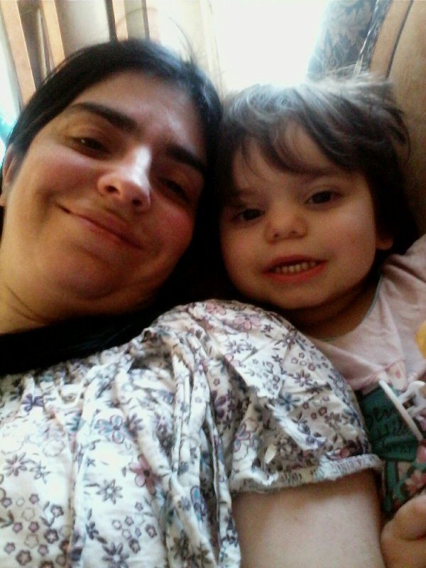 Moi avec ma fille