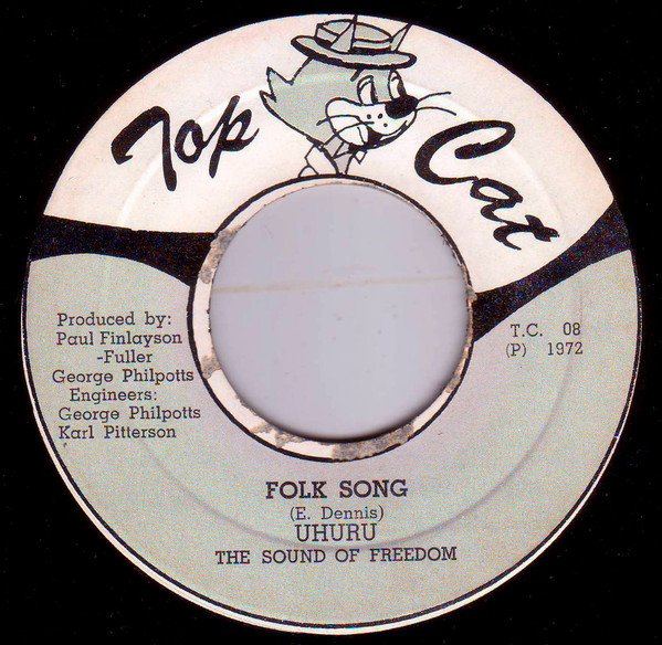 "BLACK UHURU - ""Folk song"" (1972)"