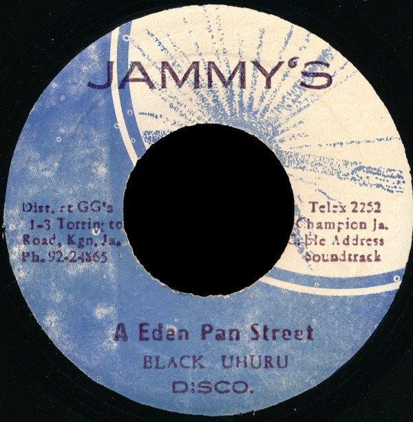 "BLACK UHURU - ""Unity time"" / ""A eden pan street"" (1977)"