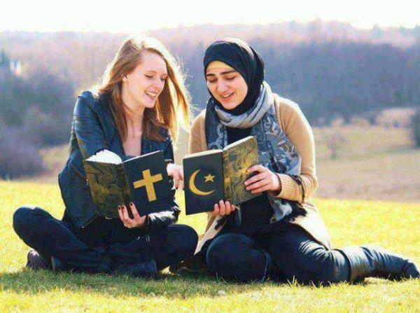 musulmans ou chrétiens on est ensembles