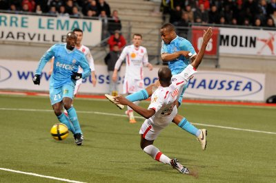 Nancy 1-2 OM : Merci Ayew !