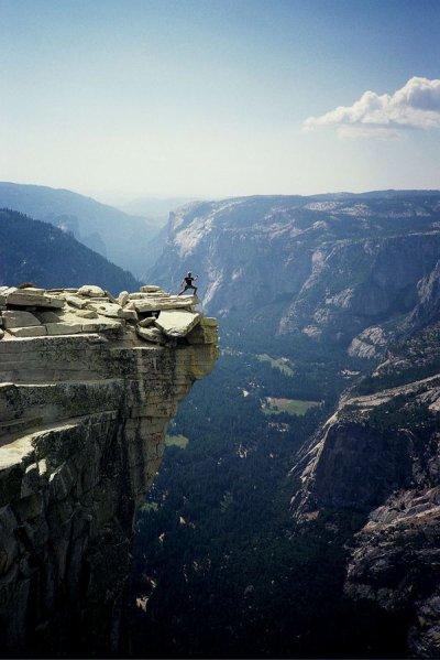 C'est seulement quand on a tout perdu que l'on est libre de faire tout ce que l'on veut.
