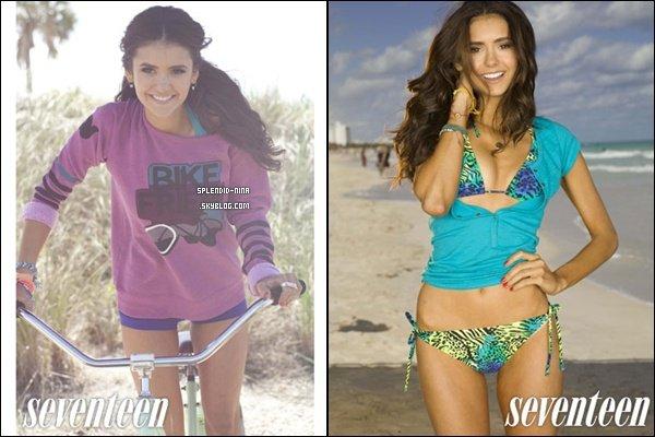 Nina fera la couverture du magazine Seventeen (Édition spécial : Fitness) cet été - Scans here