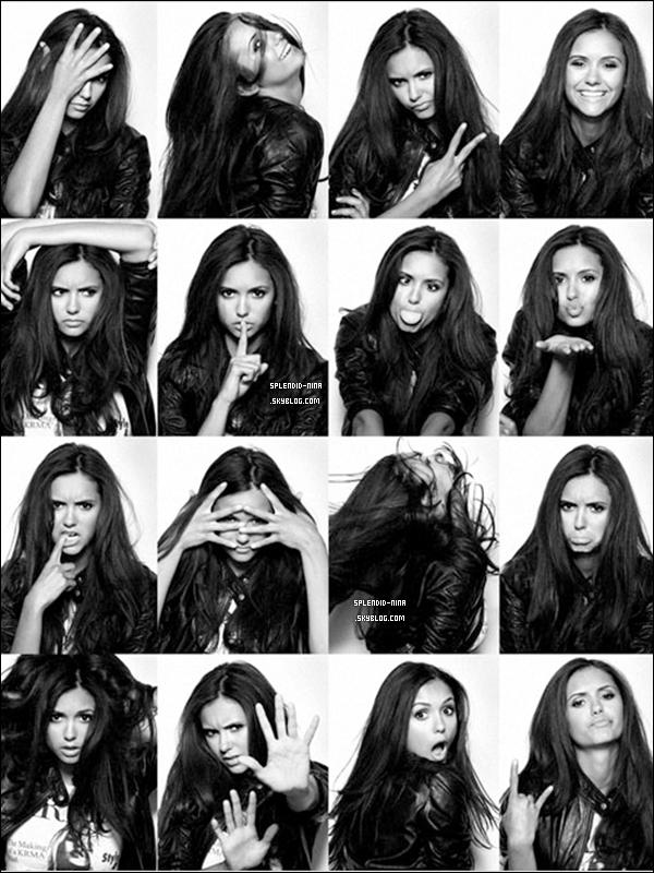 """De nouvelles photos du photoshoot de Nina Dobrev pour le magazine américain """"In Style"""" réalisé par Y.Tsai en 2009"""