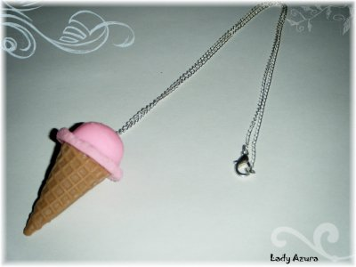 Collier sautoir Maxi Ice Cream