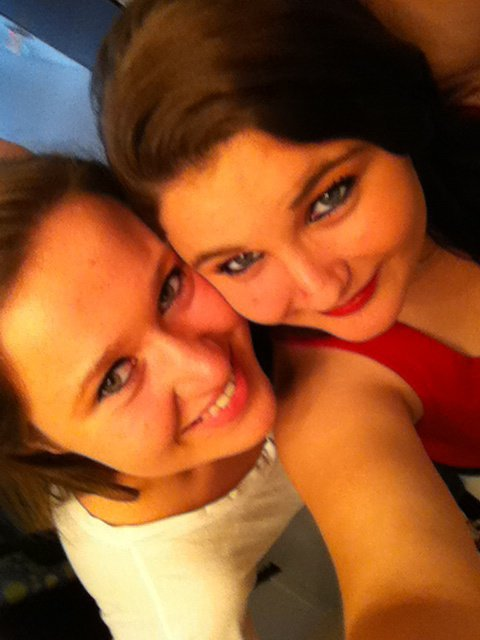 moi et ma brune favorite =P