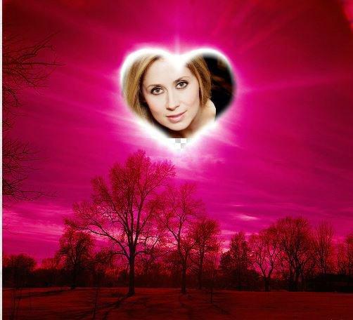 le ciel reose avec une petite lumiere rose en forme de coeur car c'est toi ma Lara <3