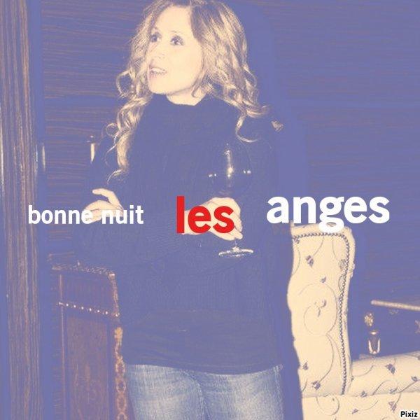 bonne nuit les anges bisous a demain :* <3