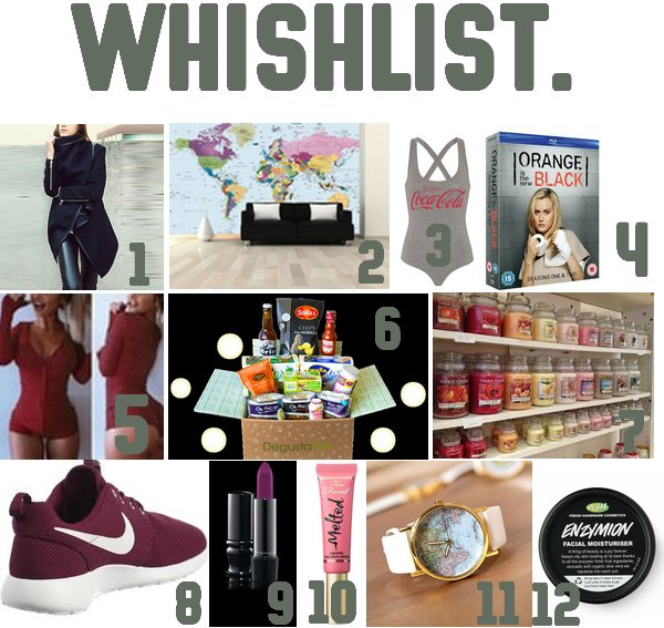MA WHISHLIST #1