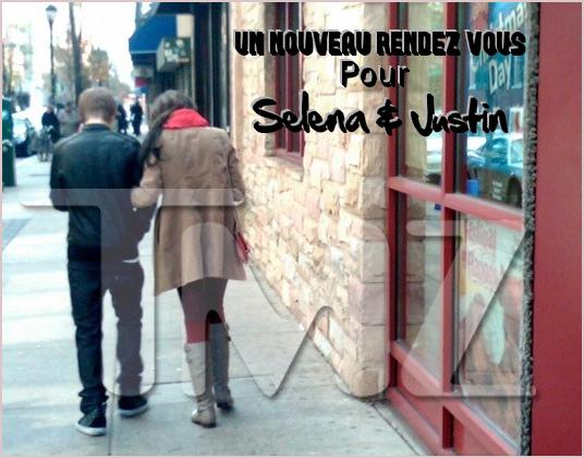 - th December . Justin et Selena, de nouveau vu ensemble !. » Tmz a une nouvelle fois la preuve que Selena Gomez et Justin ont diné ensemble. Ce magasine aurait aussi décrété qu'ils se tenaient la main tout en se regardant..