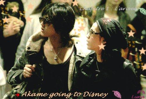 Akame chez Mickey  ! - Chapitre un : L'arrivée