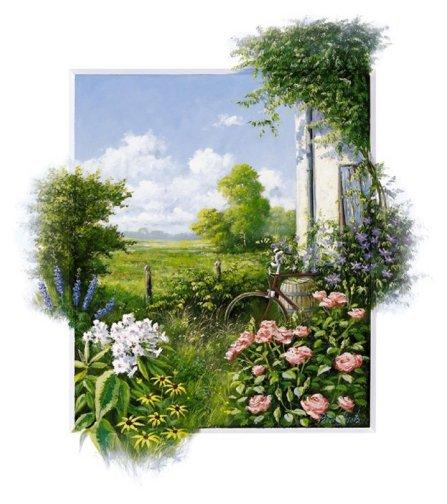 Voila des peintures de beaux paysages