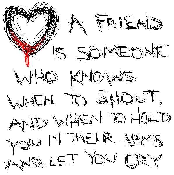 De l'amitié
